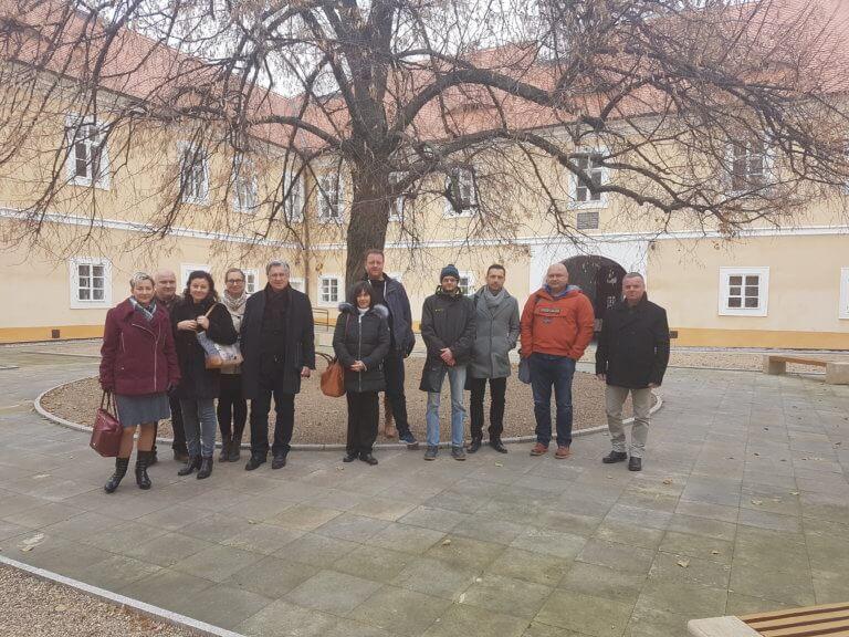 Svazek obcí vregionu Krušných hor zasedal vlitvínovském zámku