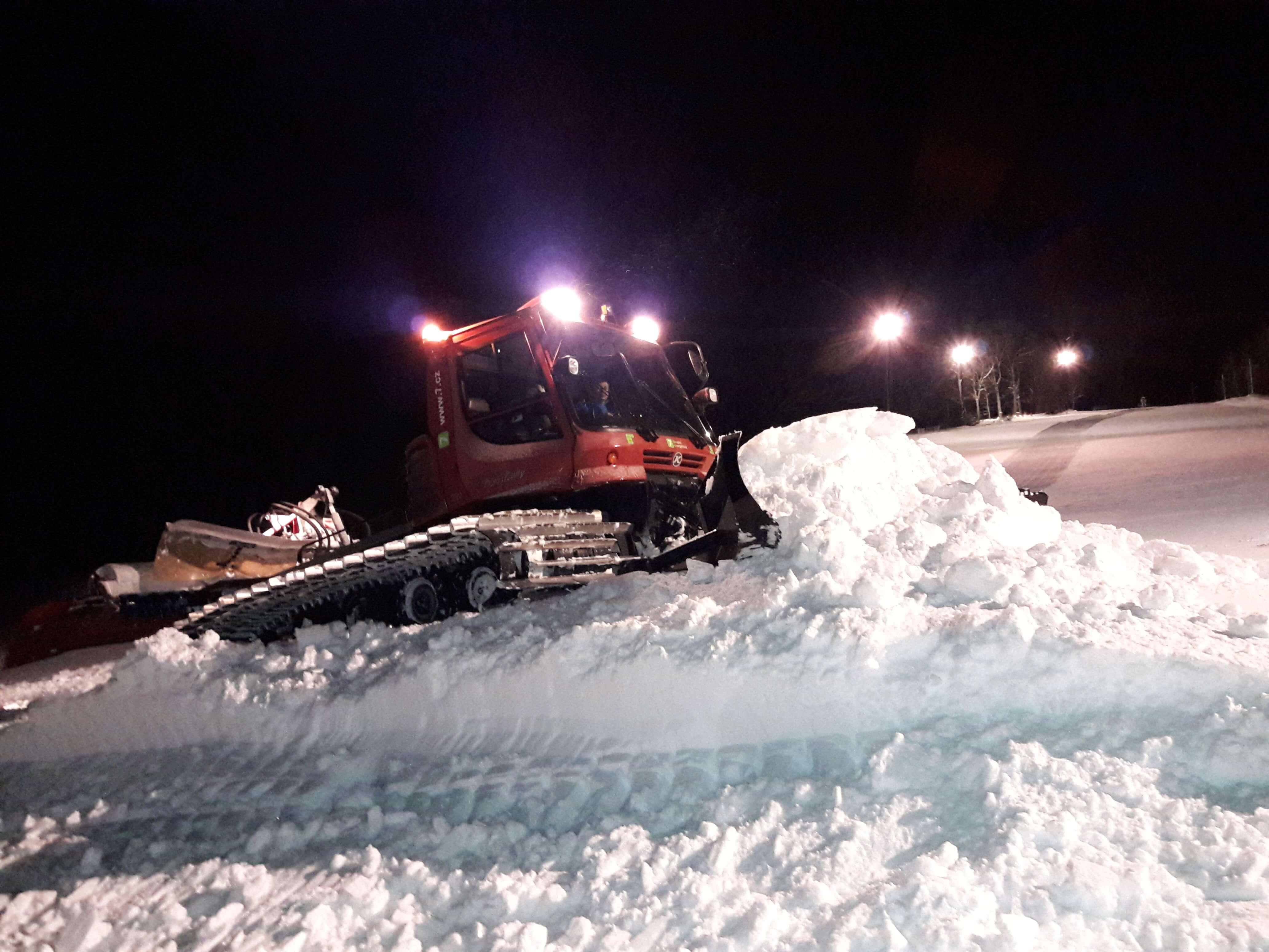 V Meziboří zahájili provoz lyžařského vleku